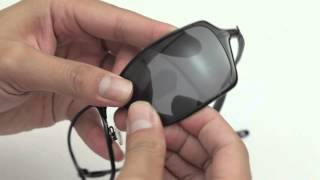 Oakley Inmate Sunglasses Lenses Replacement(Installation/Removal)