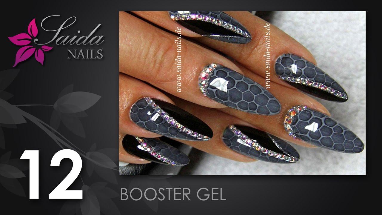 Booster Gel - Snake Skin Nailart (Nailart leicht gemalt | Saida ...