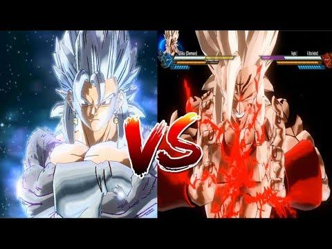 Vegito Ultra Instinct Vs Demon God ( Dragon Ball Parallel World: #4 Strongest Of Fusion ) -DBXV2