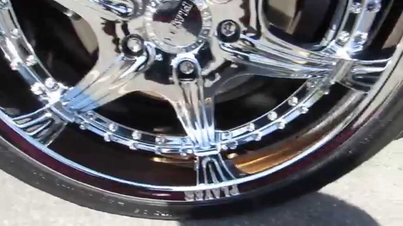HILLYARD RIM LIONS 2010 CADILLAC CTS RIDING ON 20 INCH ...