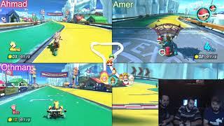 ماريو كارت ٨ ديلوكس | تحدي سيارات بيقهر مليء بالمقالب | Mario Kart 8 Deluxe ( Nintendo Switch )