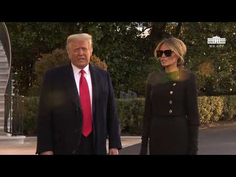 01/20/21: President Trump Delivers Remarks Upon Departure