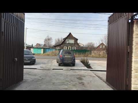 Распашные ворота видео 112