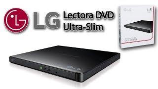 UNBOXING Lectora y Grabadora  de Dvd Cd Externa Slim Usb Lg GP65