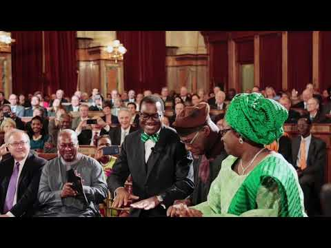 GLAZIANOW| Akinwunmi Adesina & Omawumi Shine at World Food Prize Awards