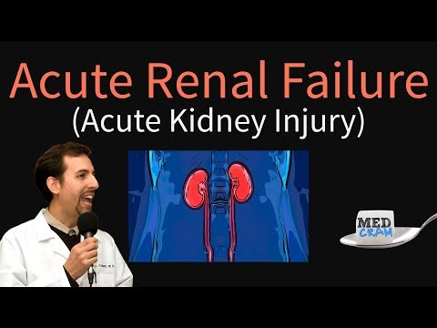 Acute Renal Failure Explained Clearly by MedCram.com