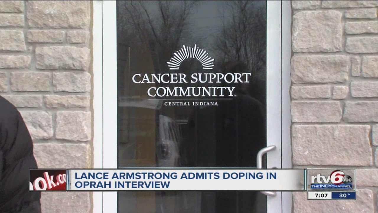 Does Lance Armstrong believe doping contributed to cancer?
