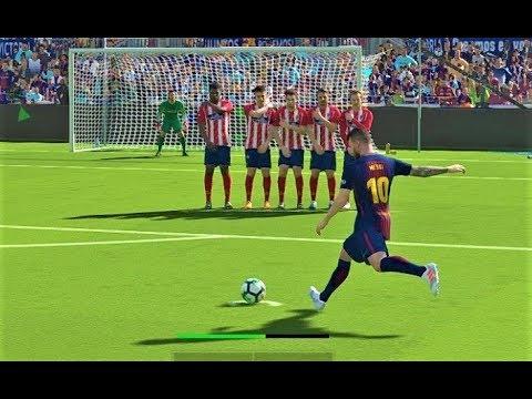 Barcelona vs Atletico Madrid 2018   Full Match   PES 2018 Gameplay HD
