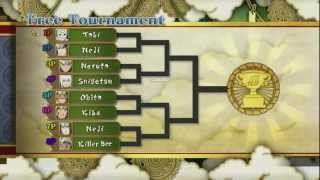 Naruto Ultimate Ninja Storm 3 ᴴᴰ  - Online Tournament # 1 ~ EXCITING MATCHES