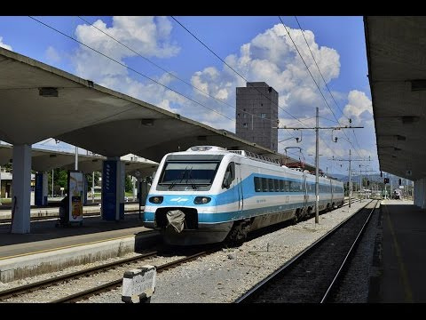 MY FIRST CAB RIDE WITH THE SLOVENIAN PENDOLINO ICS 310