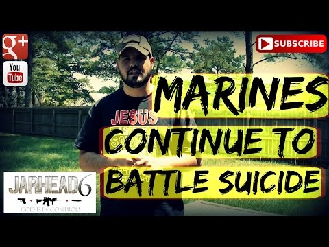 Marines Continue To Battle Suicide