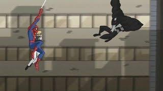 Video Spectacular Spider-Man (2008) Spider-Man vs Venom parade fight (2/3) download MP3, 3GP, MP4, WEBM, AVI, FLV Agustus 2018