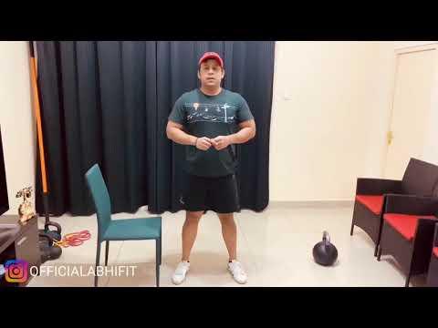Beginner Squat Drill - Box Squat or Chair Squat