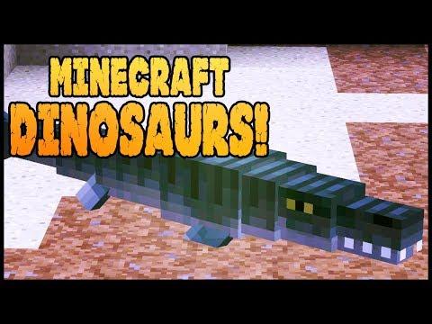 Minecraft Dinosaurs! || 538 || Angry Mosasaurus