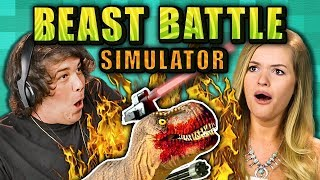 BEAST BATTLE SIMULATOR (React: Gaming)