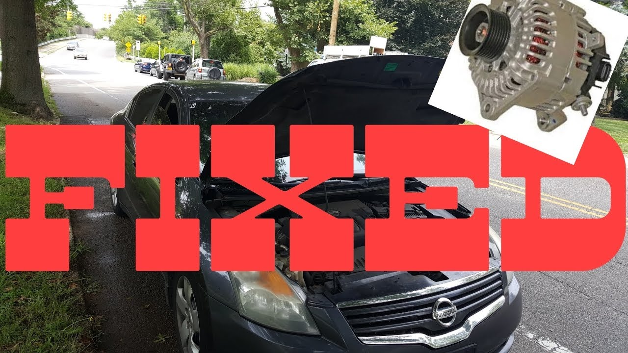 2008 Nissan Altima Why Did My Car Stall And D On The Road Issue Diagnosed Fixed