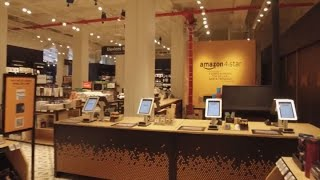 Amazon to open 4-star store in NYC today