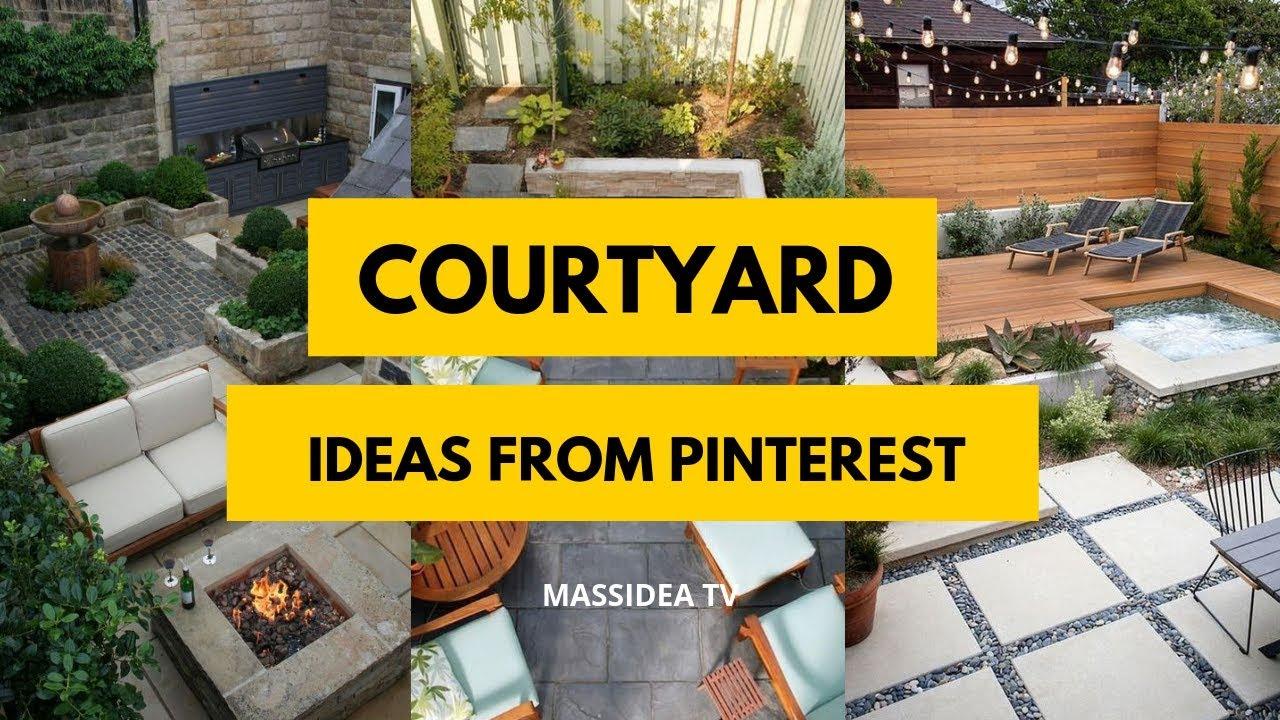 65 Best Courtyard Design Ideas From Pinterest