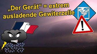 """Wetteraction 2018, Folge 3 l """"Der Gerät"""" bei Metz, Frankreich, 29. April"""