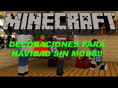 Minecraft decoraciones para navidad sin mods youtube - Decoraciones para minecraft sin mods ...