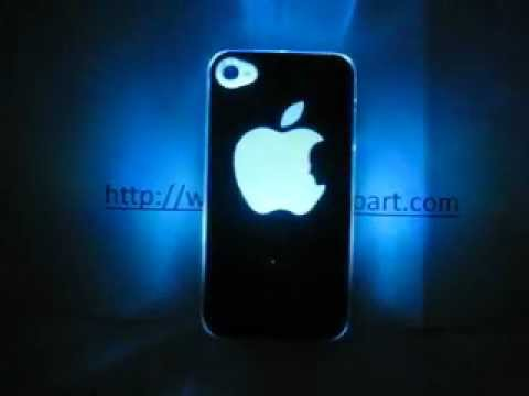 how to turn on flashlight on iphone 4