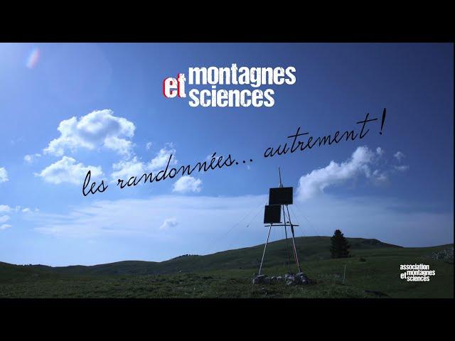 Clip Randonnées Montagnes & Sciences
