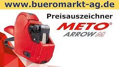 Meto Preisauszeichner Arrow M, 2 zeilig, 16 stellig