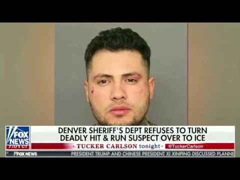 Tucker Carlson  Denver Libs Releases Illegal Alien from Deadly Hit and Run, Ignoring ICE Federal Law