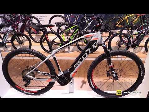 0ea9c615aec 2017 Scott eAspect 910 Electric Mountain Bike - Walkaround - 2016 Eurobike  - YouTube