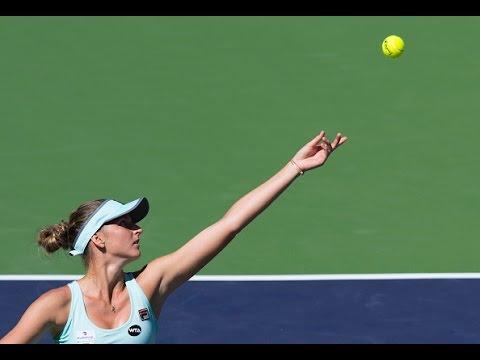 2016 BNP Paribas Open Third Round | Karolina Pliskova vs Ana Ivanovic | WTA Highlights