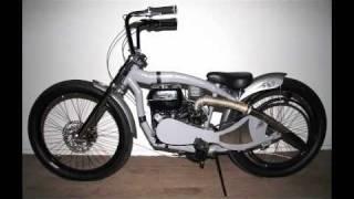 Homemade motor bikes