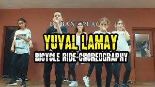 Yuval Lamay - Bicycle Ride Choreography   Urban Place Studio