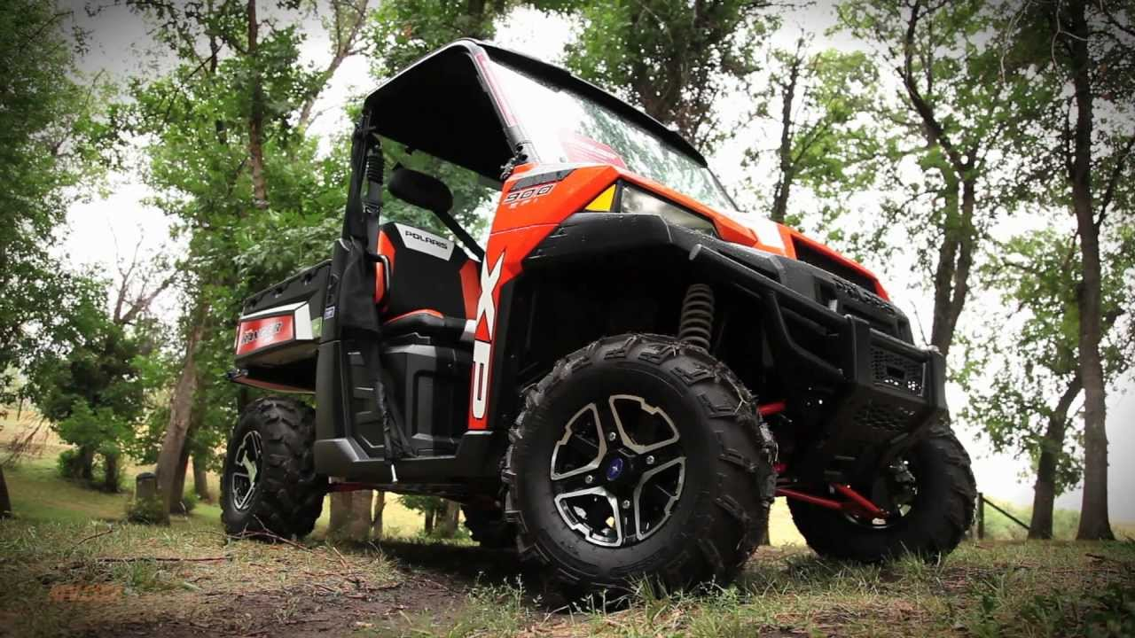 Side By Side Atv >> 2013 Polaris Ranger XP 900 UTV Review - YouTube