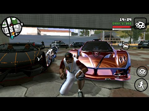 Review GTA SA Lite android mod by bagus andrian for All gpu