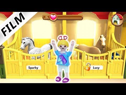 Playmobil Film deutsch | Bekommt HANNAH das vierte Pferd auf den Reiterhof? Pferdehof Kinderserie