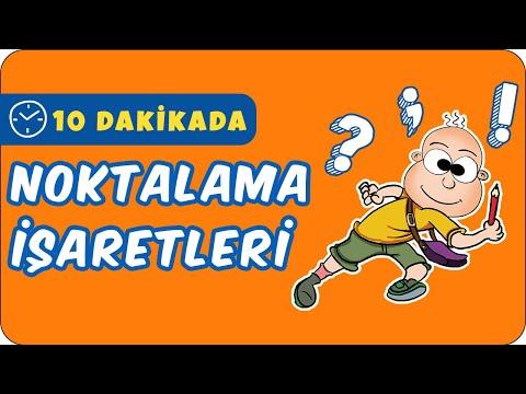 10dk da NOKTALAMA İŞARETLERİ Tonguc Akademi, TALHA DOGAN