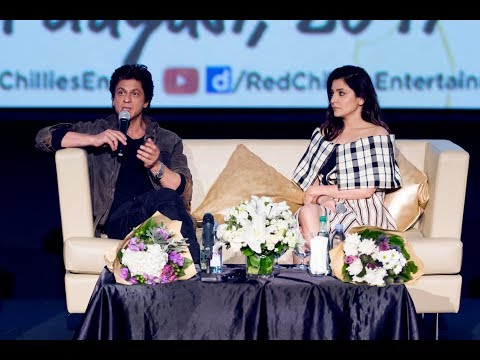 Jab Harry Met Sejal | Shah Rukh Khan - Press Conference @ Dubai | Gulf Diary | Imagine movies