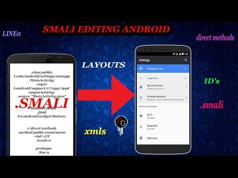 How To Add Apps In Settings Using Smali||Decompile Smali And Edit||Smali Editing Android