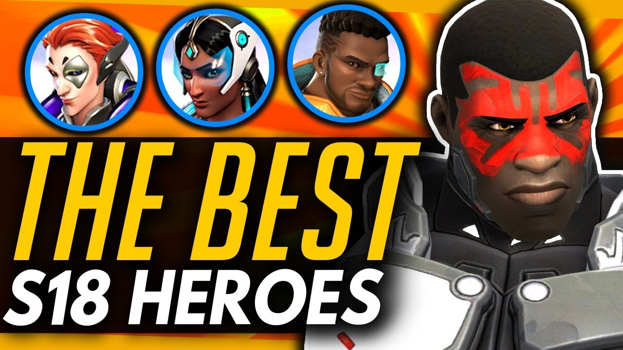 Overwatch Tier List Season 18 (September 2019) - Best hero