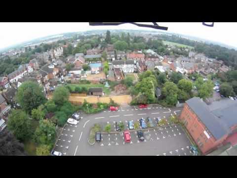 AR.Drone + GoPro
