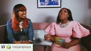 Tanya Dallas-Lewis featured on Hit YouTube Channel show @Meljackprays promo video
