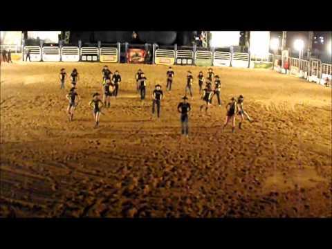 Cia de dança Arena Country, abertura do show Maria Cecília & Rodolfo