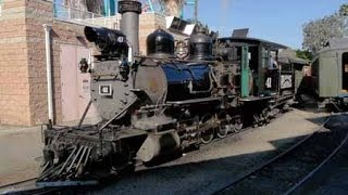 Behind the Scenes at Knotts Berry Farm Railroad