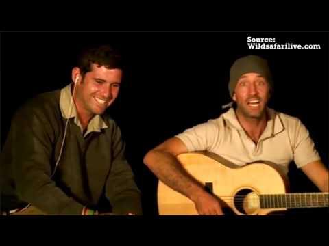 "James Sings ""The Lion Sleeps Tonight"" At Safari Live"