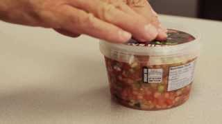 How to open our Fresh Salsa