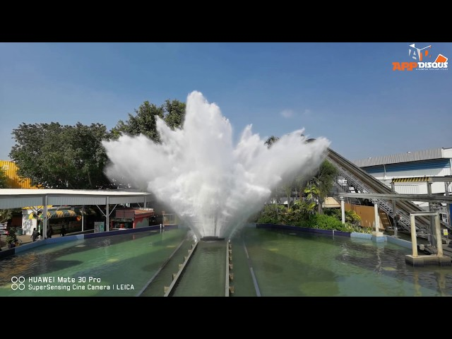 ตัวอย่างคลิป HUAWEI Mate 30 Pro กับการถ่ายแบบ Slow-Motion บนเครื่องเล่นซูเปอร์สแปลช