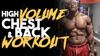 Full Chest & Back Workout for Beginners With Tips