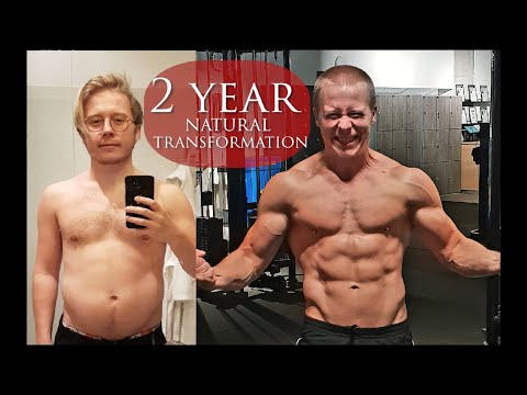 My Natural Two Year Body Transformation