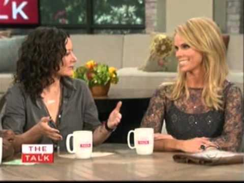 Cheryl Hines@ The Talk