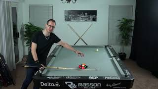 How to RUN OUT MUCH EASIER??!! Learn pattern racking in 9 ball!